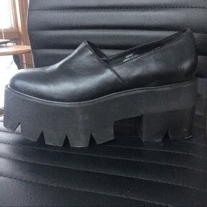 Jeffery Campbell black platforms